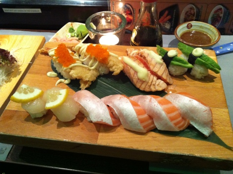 Kyoto all-you-can-eat sushi Amsterdam